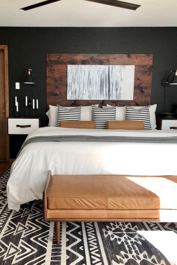 master bedroom design headboard